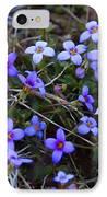 Bluets IPhone Case by Kathryn Meyer