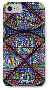 Colourful Stained Glass Window In IPhone Case by Terence Waeland