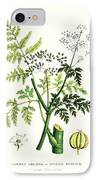 Common Poisonous Plants IPhone Case by English School