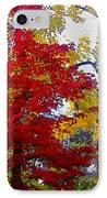 Fall Leaves IPhone Case by Ariane Moshayedi