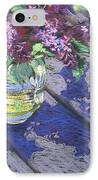Lilacs IPhone Case by Gloria  Nilsson