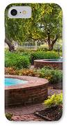 Morning Garden IPhone Case by Jeff Sinon