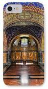 Orthodox Church Interior IPhone Case by Elena Elisseeva
