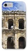 Roman Arena In Nimes France IPhone Case by Elena Elisseeva