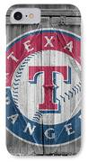 Texas Rangers IPhone Case by Joe Hamilton