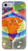 World Map And Barack Obama Stars IPhone Case by Augusta Stylianou