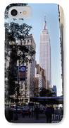Empire State Building IPhone Case by Jon Neidert