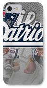 New England Patriots IPhone Case by Joe Hamilton