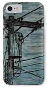 Transformer IPhone Case by William Cauthern