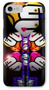Figure IPhone Case by Charles Stuart