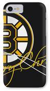 Boston Bruins IPhone Case by Joe Hamilton