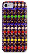 Infinity Infinite Symbol Elegant Art And Patterns IPhone Case by Navin Joshi