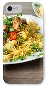 Chicken Noodles IPhone Case by Tom Gowanlock