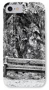 A Quiet Place IPhone Case by Tim Gainey