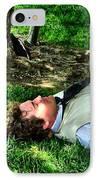 A Soldier's Rest IPhone Case by Julie Dant