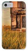 Abandoned House In Grass IPhone Case by Jill Battaglia