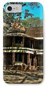 Abandoned Mansion IPhone Case by Kristie  Bonnewell