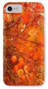 Ablaze IPhone Case by Elizabeth Carr