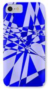 Abstract 152 IPhone Case by J D Owen