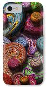 Abstract - Beans IPhone Case by Mike Savad