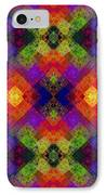 Abstract - Rainbow Connection - Panel - Panorama - Horizontal IPhone Case by Andee Design