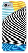 Abstract - Sailing IPhone Case by Mike Savad
