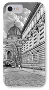 Academy Of Arts Dresden IPhone Case by Christine Till
