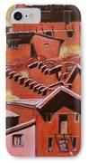 Adobe Village - Peru Impression II IPhone Case by Xueling Zou