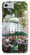 Afternoon At Faneuil Hall IPhone Case by Jeff Kolker
