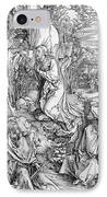 Agony In The Garden From The 'great Passion' Series IPhone Case by Albrecht Duerer