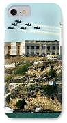 Alcatraz Blues IPhone Case by Benjamin Yeager