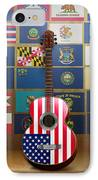 All State Flags IPhone Case by Bedros Awak