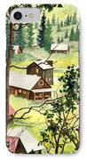 Almost Heaven IPhone Case by Barbara Jewell