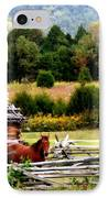 Along The Wilderness Trail IPhone Case by Karen Wiles