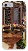 Alsace Window IPhone Case by Brian Jannsen