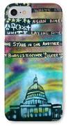 American Rainbow IPhone Case by Tony B Conscious
