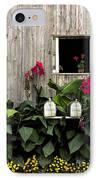 Amish Barn IPhone Case by Diane Diederich