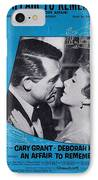 An Affair To Remember IPhone Case by Mel Thompson