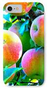 An Apple A Day IPhone Case by Kay Gilley