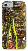 An Exercise In Yellow IPhone Case by Michael Kulick