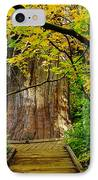 An Old Growth Douglass Fur In The Grove Of The Patriarches Mt Rainer National Park IPhone Case by Jeff Swan