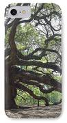 Angel Oak II IPhone Case by Suzanne Gaff