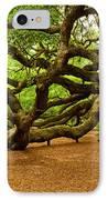 Angel Oak Tree Branches IPhone Case by Louis Dallara