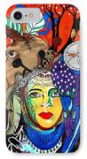 Animal Basket IPhone Case by Amy Sorrell