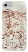 Annunciation  IPhone Case by Rembrandt Harmenszoon van Rijn
