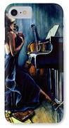 Appassionato IPhone Case by Hanne Lore Koehler