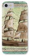 Aqua Maritime 1 IPhone Case by Debbie DeWitt