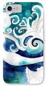 Aqua Mermaid IPhone Case by Genevieve Esson