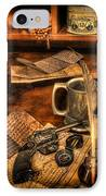 Archaeologist -  The Adventurer's Jornal IPhone Case by Lee Dos Santos