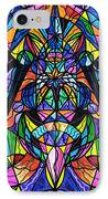 Arcturian Awakening Grid IPhone Case by Teal Eye  Print Store